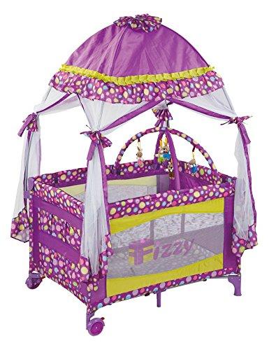 Fizzy Canopy Play Pen, Purple by Fizzy