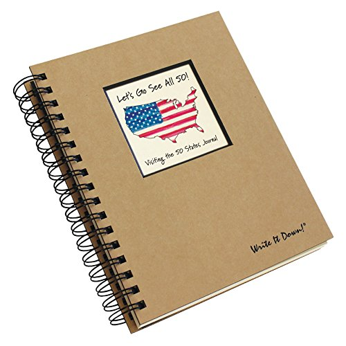 Let's Go See All 50 States Journal *NEW EDITION (Natural Brown)