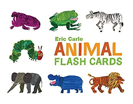 photograph about Printable Animal Flash Cards referred to as Chronicle Publications Eric Carle Animal Flash Playing cards