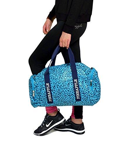 Ananas Dancewear Leopard Tänzer Tasche Blue Print Gym Dance Gymnastik