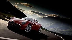 Alfa Romeo 25inch x 14inch Plastic Poster - Waterproof - Anti-Fade - Outdoor/Garden/Bathroom -