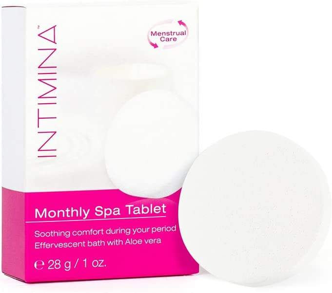 Tableta Spa Mensual INTIMINA – Tableta de baño efervescente ...