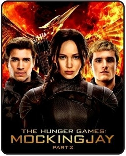 Hunger Games Mockingjay blanket throw by Bioworld. Thick soft and 48 X 60