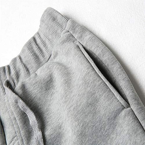 Pantalons Pour Garçon Garçons Décontractés Ursing Jogging Fitness Survêtement Gris Sports OrnTxO