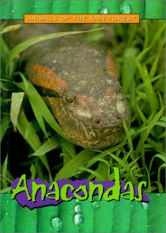 Anacondas (Fisher Price: Animals of the Rainforest) by Christy Steele (2000-08-03) -