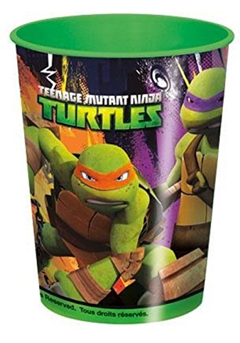 16oz Teenage Mutant Ninja Turtles Plastic Cup -