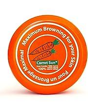 Carrot Sun® garvningsaccelerator Carrot Cream | Solkräm med 100% naturlig morotoljextrakt | Maximal snabb garvning | 350 ml