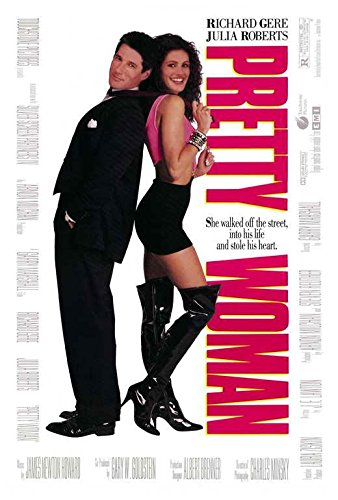 Pretty Woman Movie POSTER 27 x 40, Richard Gere, Julia Roberts, A, MADE IN THE (Pretty Woman Posters)