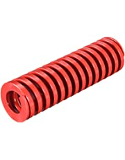uxcell® 20mm OD 40mm Long Spiral Stamping Middle Load Compression Mould Die Spring Red 1Pcs