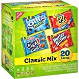 Image of Nabisco Classic Cookie and Cracker Mix (20-Count Box)