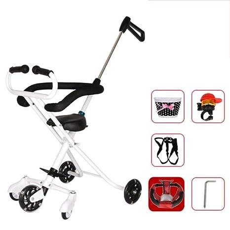 Cinco ruedas Peso ligero Carro de bebé,Portátil Carretilla infantil ...