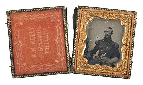 Civil War Solider - Stonewall Jackson Look-a-Like - Sixth-Plate Daguerreotype