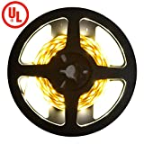 kitchen 67 reviews Premium UL-Listed Warm White High Output 2835 LED Light Strip - 3000K, 180 LEDs, 10 Feet - 12V DC - 414 Lumens & 3 Watts / Foot - Kitchens, Cabinets, Displays, Crown Molding & More