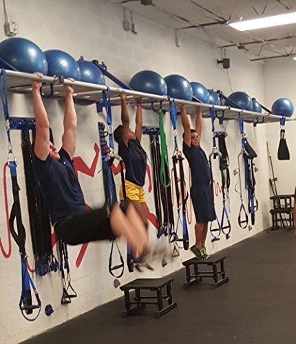 CoreX Commercial Bodyweight Training Solution 14 Foot Monkey Pull Up Bar Wall Frame A must have package for all gyms and clubs!