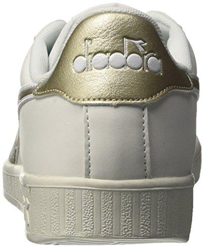 Diadora oro Uomo P Sneakers White Off Bassi bianco Chromium Game xqUzrA7x
