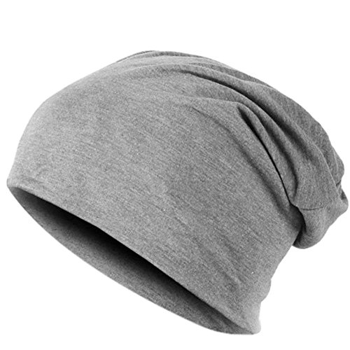 easy4fashion - Gorro de punto - para hombre gris