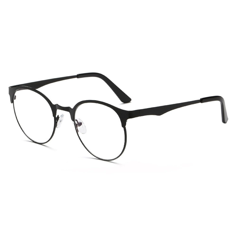 Anti Blue Light Glasses - Marco de metal redondo de anteojos ...