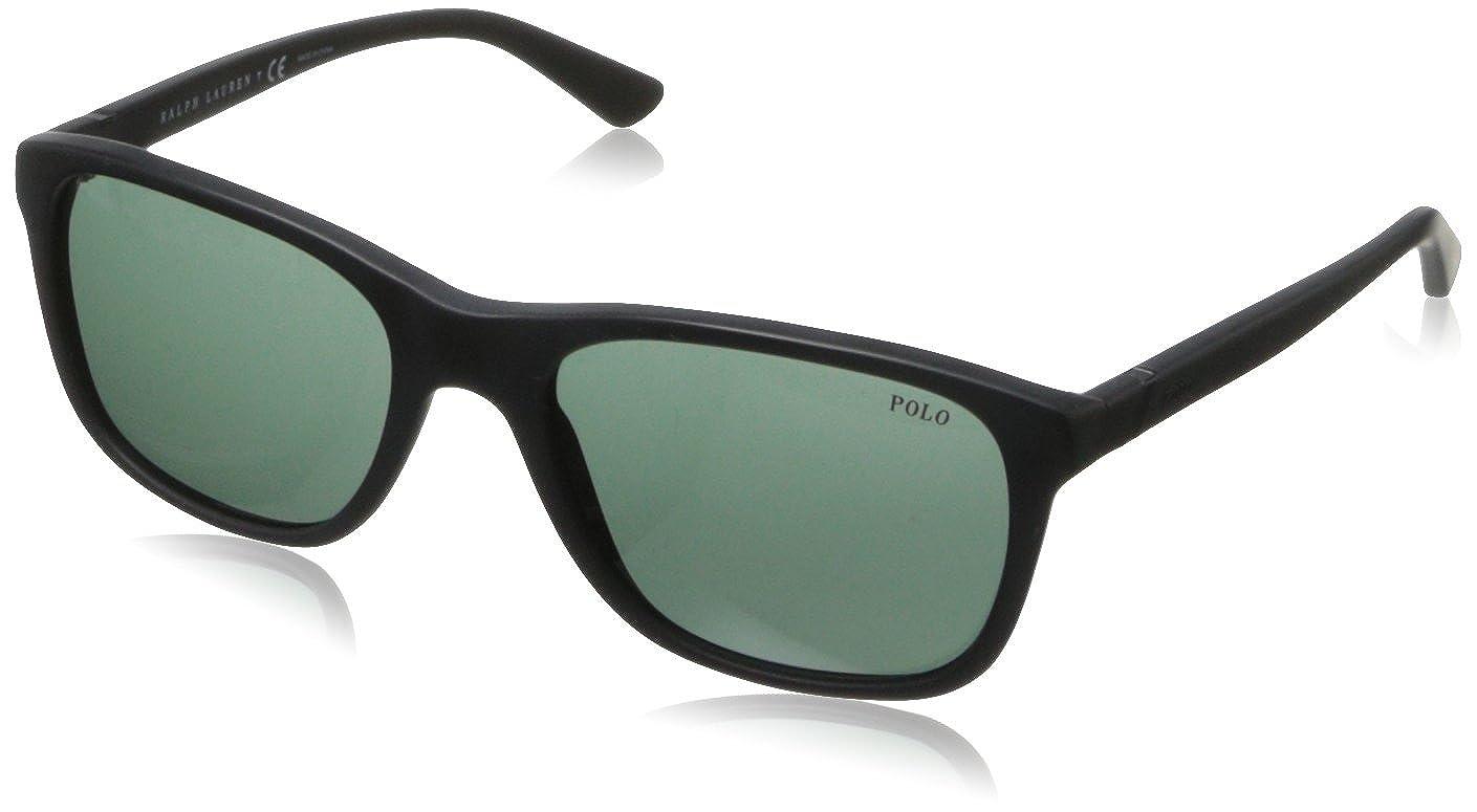 Ralph Lauren POLO 0PH4085 Gafas de sol, Matte Black, 55 para ...