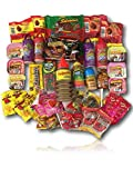 Mexican Candy Variety Care Package by AtHomePlus (40 Count) --Perfect Gift for College Dorm, Military or Office!!