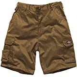 Dickies Redhawk Mens Cargo Style Shorts Branded Workwear Casual Side Pockets Back Pockets Khaki 40''