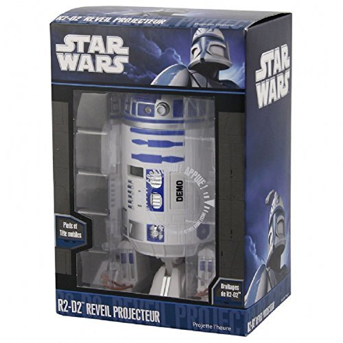 Star Wars R2D2 Projection Alarm Clock alarm clock (time projection) Overseas Limited imports (japan import) by Star Wars