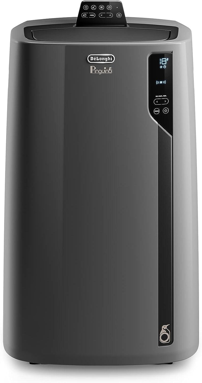 De'Longhi Pingüino EL112 Silent Aire Acondicionado Portátil, 11000 Btu/h, 2.9 Kw, Deshumidificación, Eco Real Feel y Cool Surround Technology para Máximo Ahorro y Comodidad