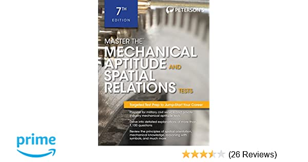 Master the mechanical aptitude and spatial relations test master the mechanical aptitude and spatial relations test petersons master the mechanical aptitude spatial tests petersons 9780768928631 fandeluxe Image collections