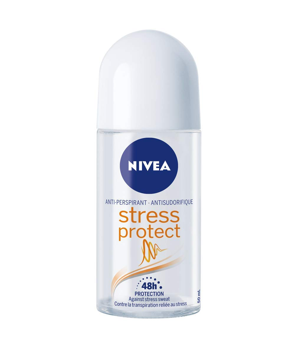 NIVEA Stress Protect 48H Protection Anti-Perspirant Stick, 43 g 056594005624