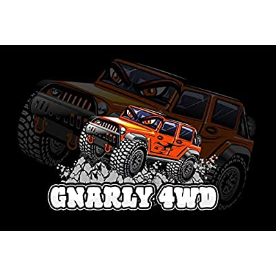 GNARLY 4WD Aluminium Shackle Hitch for 2 inch Receiver, Tow Accessories for Truck and Jeep Recovery, Heavy Duty, Rustproof Tow Hitch: Automotive