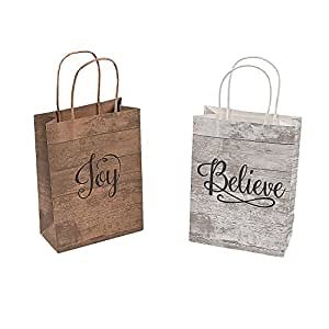 Amazon.com: Divertidas bolsas de papel kraft de tamaño ...
