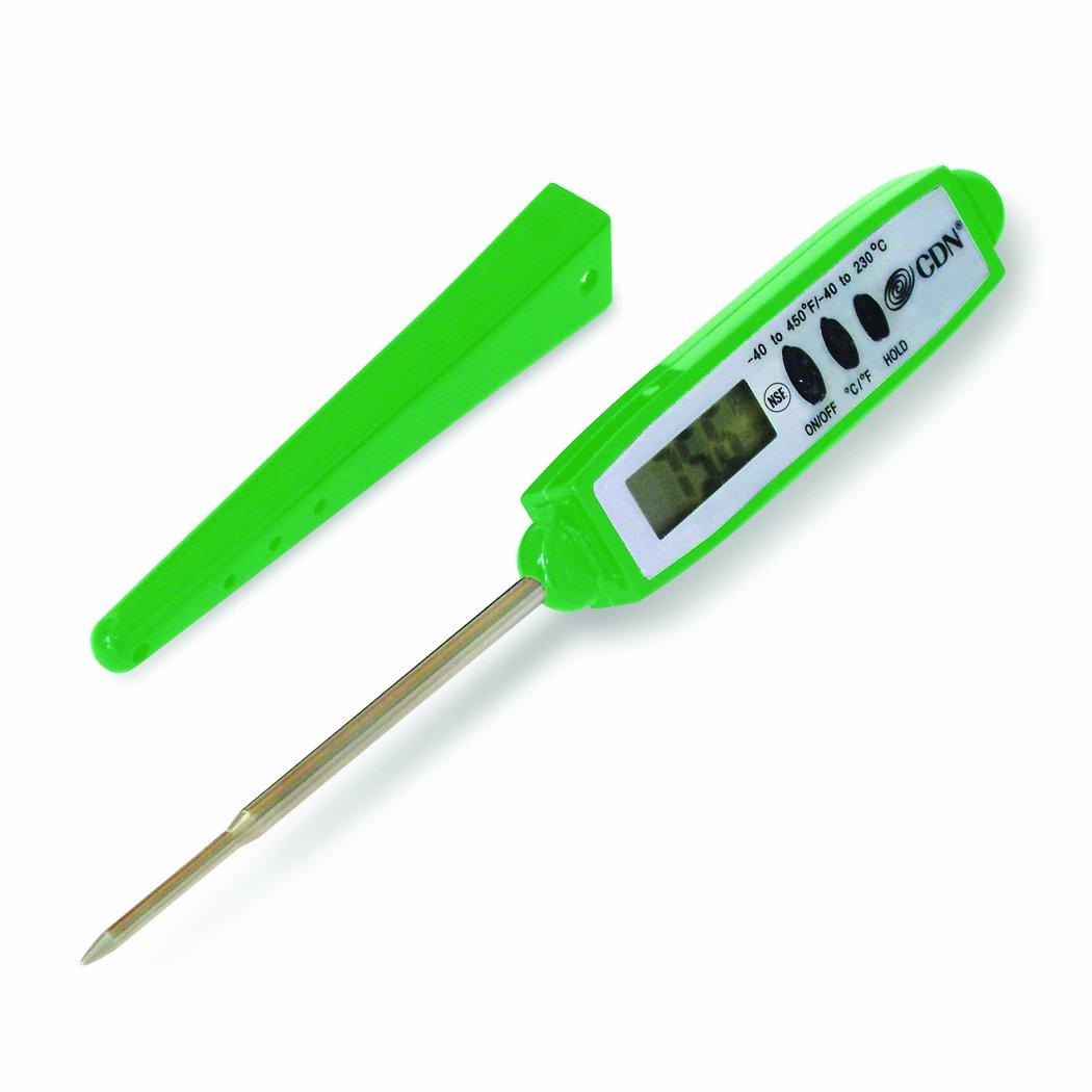 CDN DT450X-G Digital Pocket Thermometer – Green