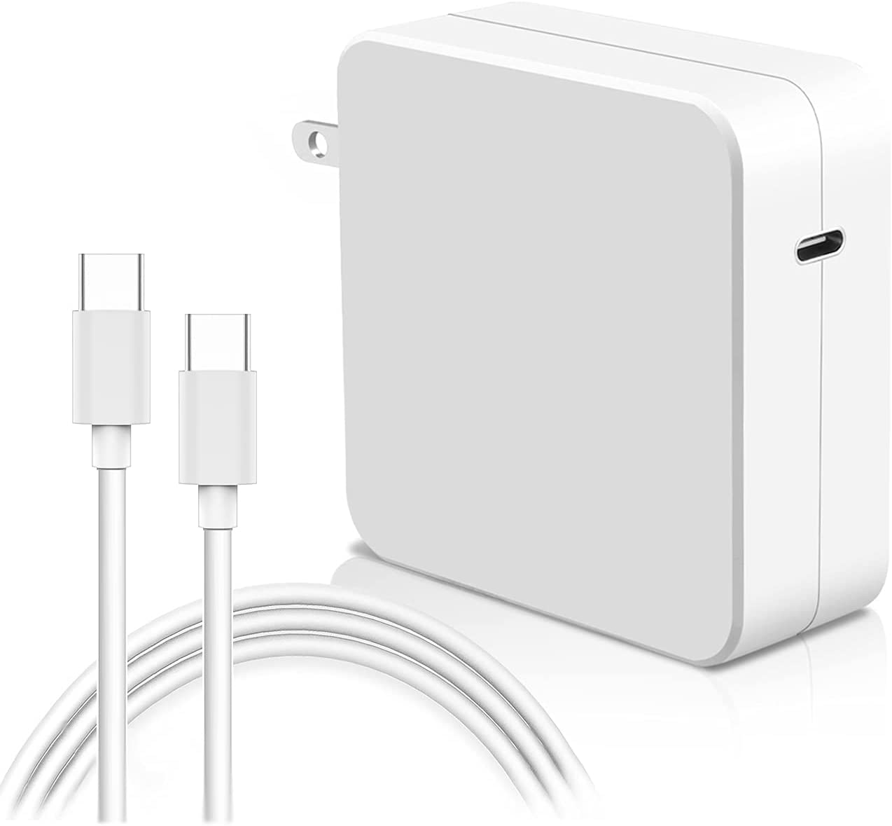 96W USB-C Power Adapter and USB-C Charge Cable (2m) for MacBook Pro MacBook Air Charger or Devices That Charge via USB-C Port