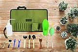 Succulent Kit Roll Organizer Gardening Tool Set