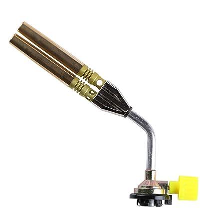 Rziioo Pistola De Llama Portátil Compacta De La Antorcha del Gas para La Soldadura Que Acampa