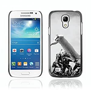 Designer Depo Hard Protection Case for Samsung Galaxy S4 Mini / LOL CAT LOONG Cat