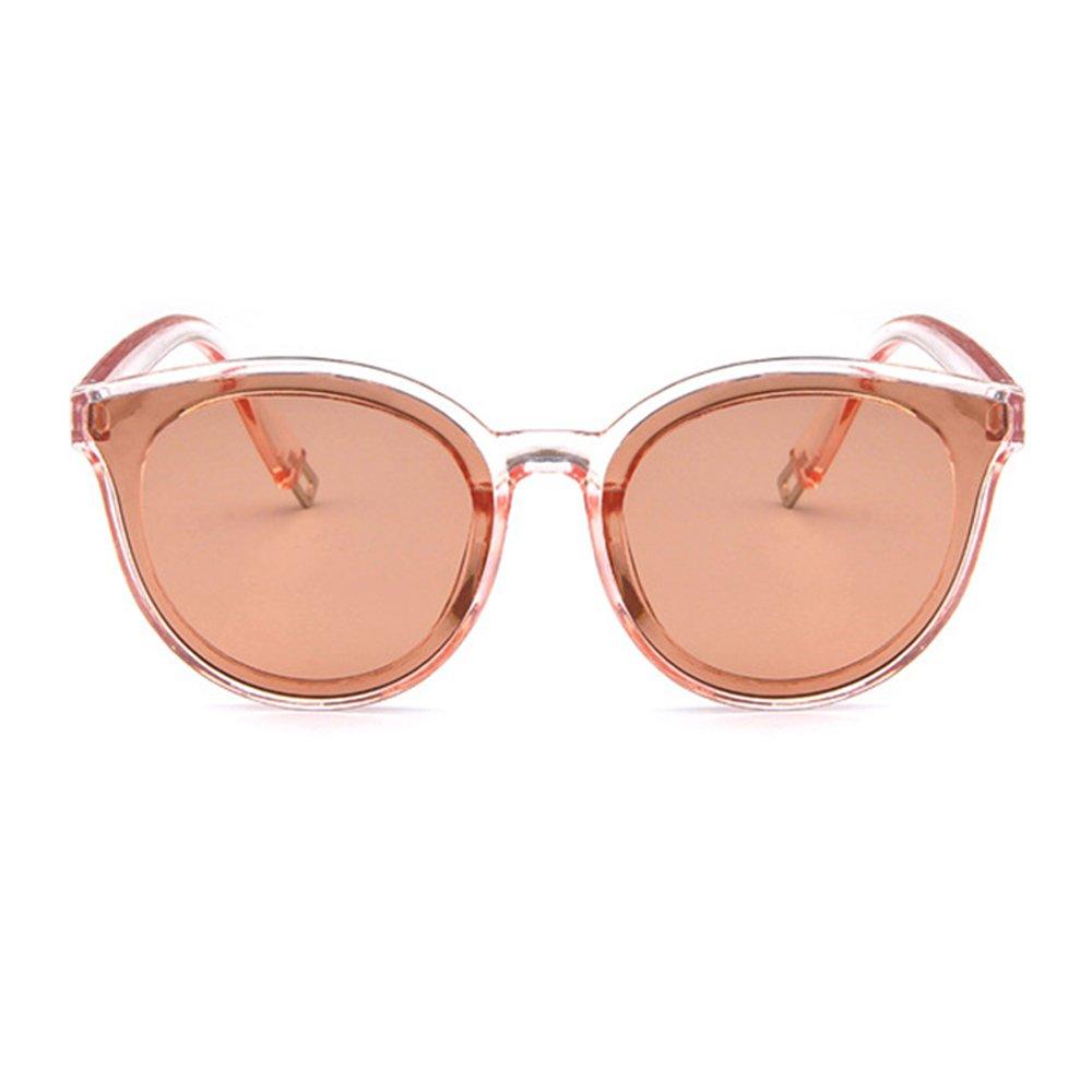 Forepin® Gafas de Sol Mujer Polarizadas Planas Lentes de Protección UV400 Moda Marca Metal el Plasti...