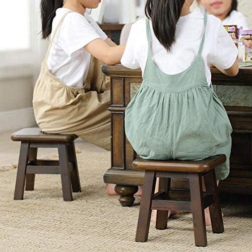 Stoelen XUERUI Krukken Kleine Bank Effen Hout Pine Kind Wijzig Schoen Bench Coffee Table Multifunctionele Stap Krukje Meubels