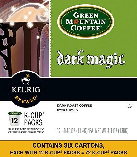 Gourmet Single Cup Coffee Dark Magic - 12 K-Cups,(Green Mountain Coffee Roasters)