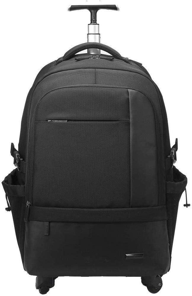 出張用トロリースーツケース、ビジネススクールレジャー多機能ショルダーバッグ、男性と女性用の大容量4ラウンド(色:ロイヤルブルー、サイズ:50 * 35 * 22cm)