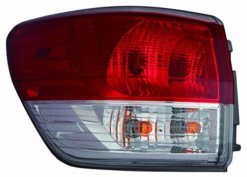Depo 315-1980L-AF Tail Lamp Assembly (Nissan Pathfinder 13-15 Driver Side - Lamp Tail Nissan Pathfinder