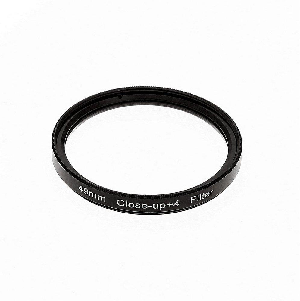 LOUPE 49mm - Bonnette macro close up 49mm +4 dioptries - Pour tout objectif en diamètre 49mm