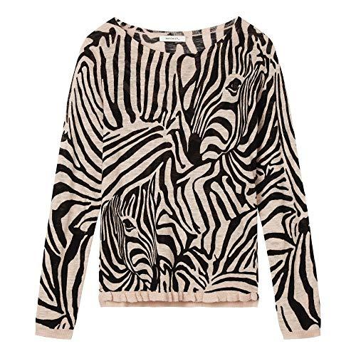 Ladies Sweater Rosa 21001464 Sandwich Print Zebra 1gqd1wH