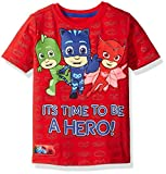 PJ MASKS Boys' Toddler Boys' Short Sleeve T-Shirt