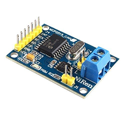 WINGONEER MCP2515 CAN Bus Module TJA1050 Receiver SPI Module For Arduino Raspberry Pi 51 ARM AVR DIY etc
