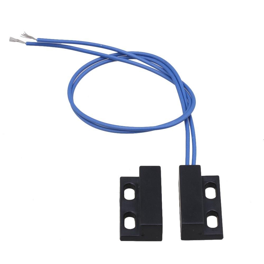 RDEXP AC110-220V Interruptor magn/ético para puerta de armario o ventana color negro y azul