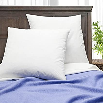Amazon Simple Comfort Premium 40% Feather40% Down Pillow Insert Enchanting Synthetic Vs Feather Pillow Inserts