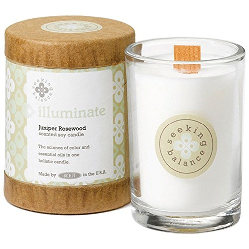 Root Candles Scented Soy Candle in Illuminate (Juniper Rosewood) 6.5 oz