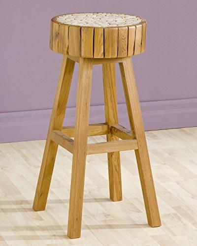 Eucalyptus Bar Chair - GROOVYSTUFF TF-0964-30 Eucalyptus Bar Chair