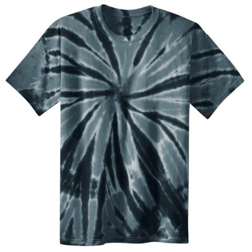 Port & Company PC147 Essential Tie-Dye Tee - Black - L