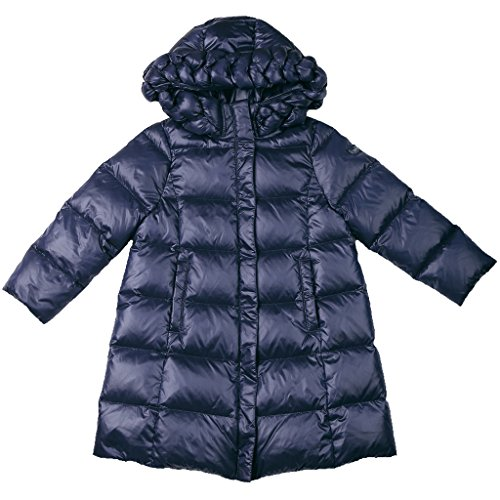 Oceankids Little Girl's Navy Blue Zip Closure Hooded Puffer Bubble Down Coat 2 Years by OCEANKIDS